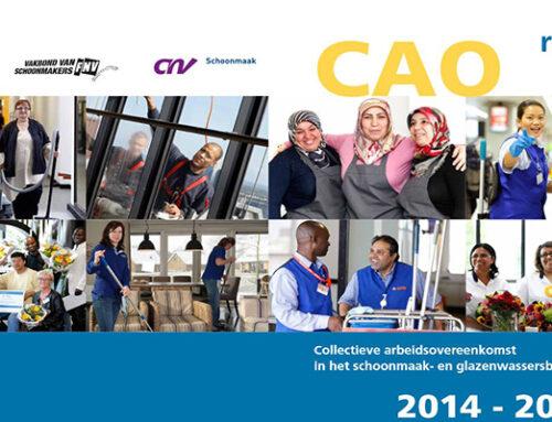 CAO schoonmaak en glazenwasserbedrijf 2014 – 2016